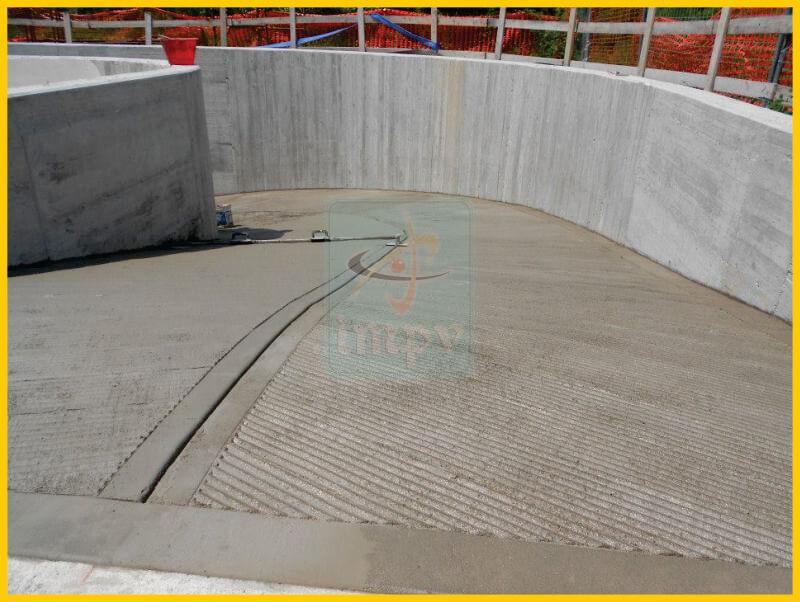 IMPV - Pardoseli Elicopterizate - Rampe Antiderapante - Trotuare din beton - 40